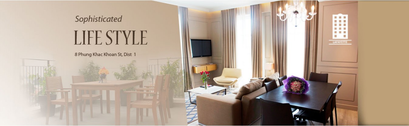 Lafayette - Serviced apartments in HCM